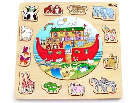 Pino Slagalica - umetaljka Nojeva barka
