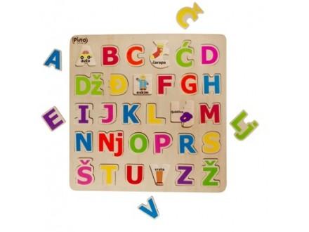 Pino slagalica - abeceda