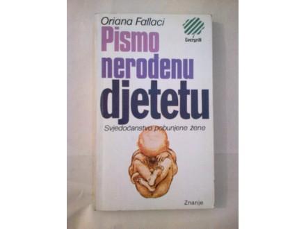 Pismo nerođenu djetetu - Oriana Fallaci