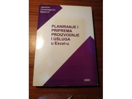 Planiranje i priprema proizvodnje i usluga u Excel-u