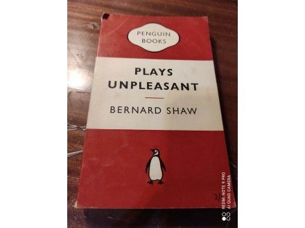 Plays unpleasant Shaw