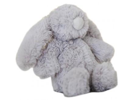 Plišana igračka - Grey Rabbit, Small - Bambino