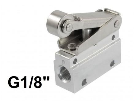 Pneumatski krajnji prekidac sa rolerom - 1/8 - MOV-02