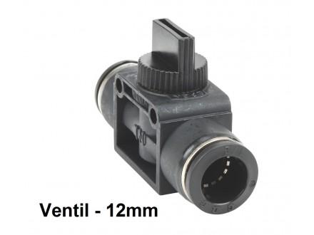 Pneumatski rucni ventil 12mm - HVU12-12