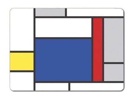 Podmetač - Table Colour Block, Large Blue Block