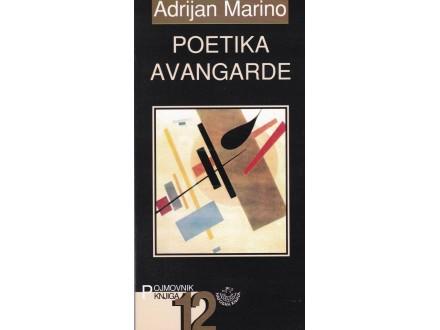 Poetika avangarde - Adrijan Marino