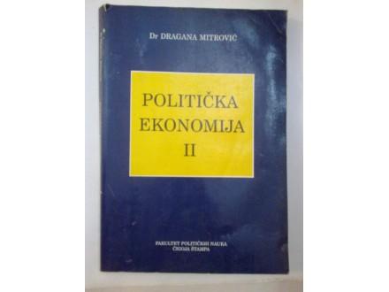 Politička ekonomija II - dr Dragana Mitrović