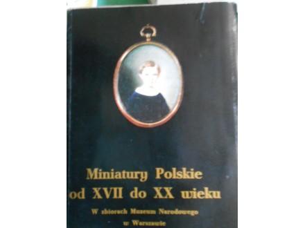 Poljske minijature  od XVII do XX.v. u umetnosti