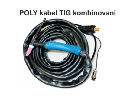 Poly kabel TIG kombinovani 9mm