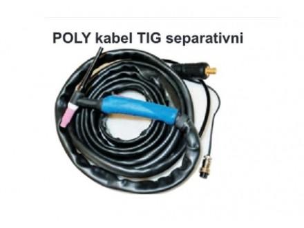 Poly kabel TIG separativni 25mm2/13mm/4m
