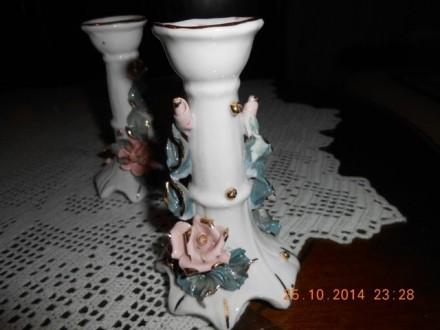 Porcelanski svećnjak 2