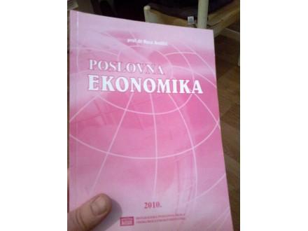Poslovna ekonomika - prof dr Rosa Andžić