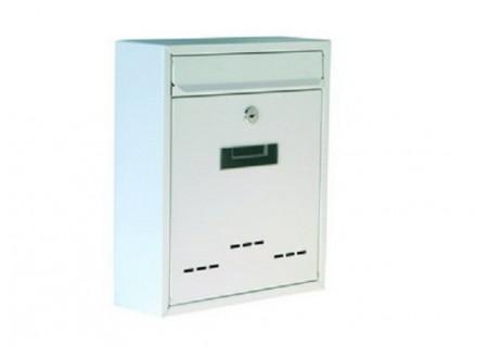 Poštansko sanduče belo 31x26x90mm LEVIOR