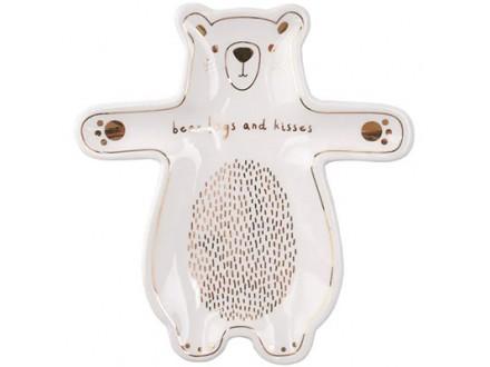Posuda za prsten - With Love, Bear Hugs &; Kisses - With Love