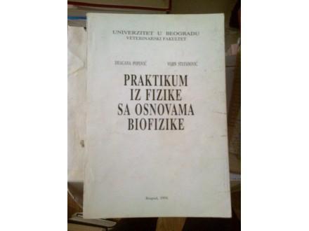 Praktikum iz fizike sa osnovama biofizike - Popović