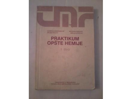 Praktikum opšte hemije I deo - Bogunović Poleti