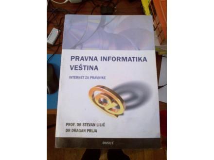 Pravna informatika veština - Lilić Prlja