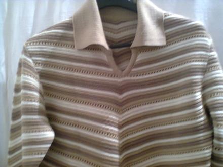 Prelep džemper sa bordurom