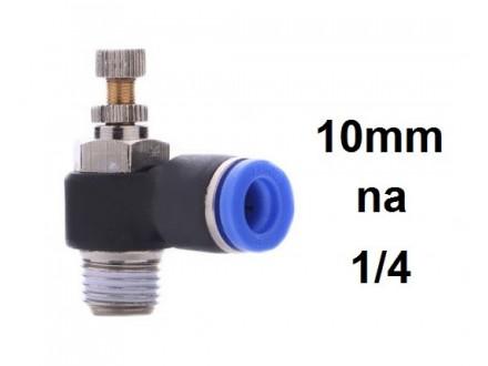 Prigusni ventil 10mm na 1/4 (12.8mm SL10-1/4