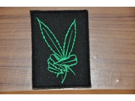 Prisivac Marijuana Cannabis crno zeleni