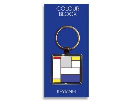 Privezak - Colour Block, Large Blue Block
