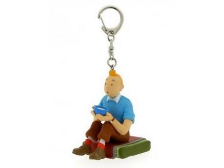 Privezak - Tintin Seated Tibet - Tintin