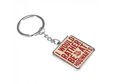 Privezak za ključeve - HP, I Rather be at Hogwarts - Harry Potter