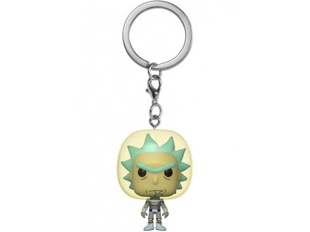 Privezak za ključeve - POP Rick &; Morty, Space Suit Rick - Rick and Morty