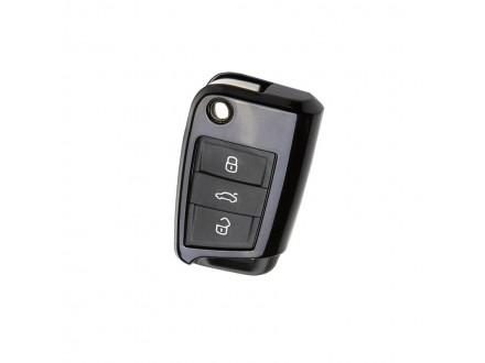 Privezak za kljuceve za auto Volkswagen Golf crni
