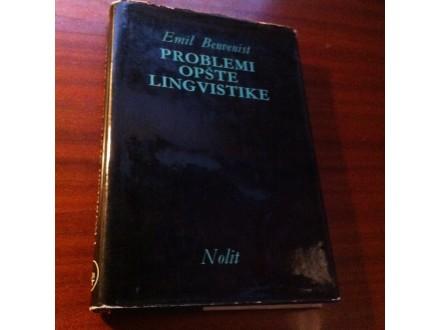 Problemi opšte lingvistike Emil Benvenist