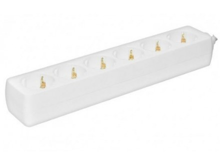 Produžni kabel - razvodnik 6 utičnica 3x1.5mm - 1.5m Pr
