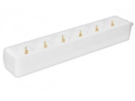 Produžni kabel - razvodnik 6 utičnica 3x1mm - 1.5m Pros