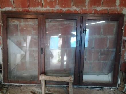 Prozor sa vakum staklom 220*140*5cm trokrilni Prokuplje