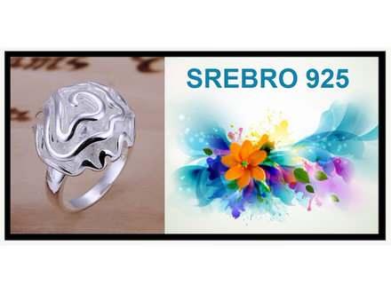 Prsten SREBRO 925 - R005