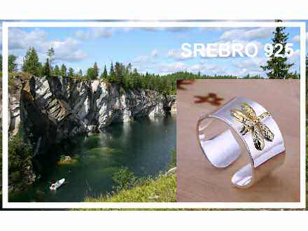 Prsten SREBRO 925 - R011