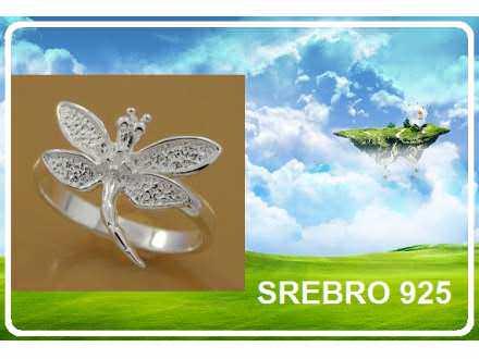 Prsten SREBRO 925 - R017