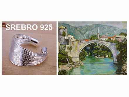 Prsten SREBRO 925 - R018
