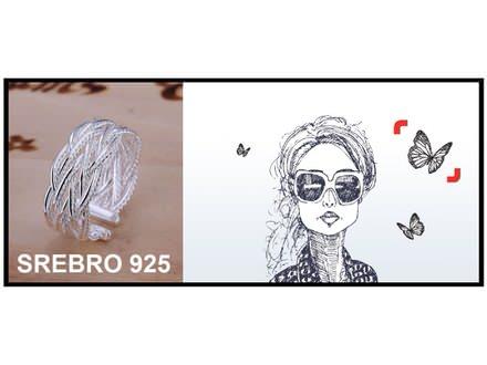 Prsten SREBRO 925 - R023