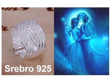 Prsten SREBRO 925 - R024