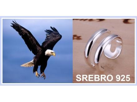 Prsten SREBRO 925 - R038