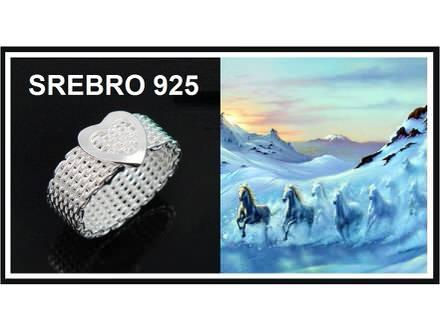 Prsten SREBRO 925 - R043
