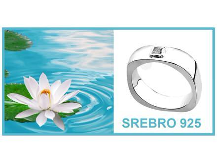Prsten SREBRO 925 - R051
