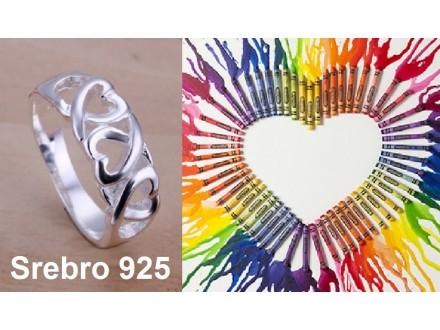 Prsten SREBRO 925 - R090
