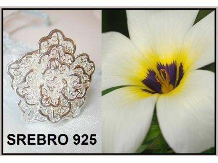 Prsten SREBRO 925 - R116
