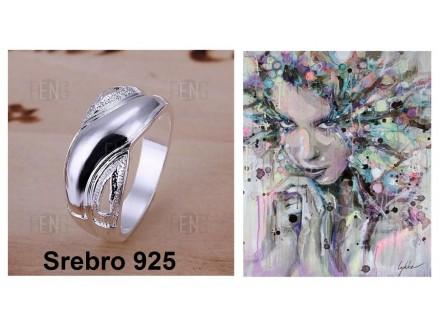 Prsten SREBRO 925 - R121