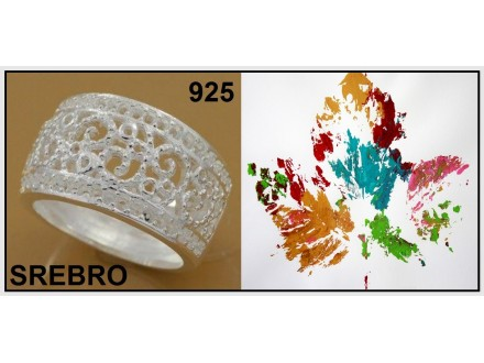 Prsten SREBRO 925 - R211