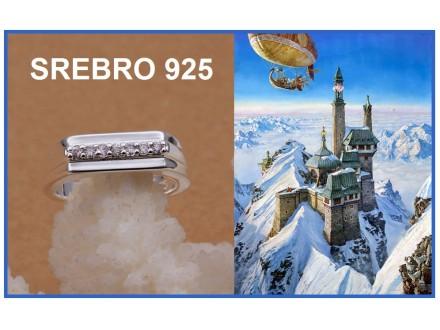 Prsten SREBRO 925 - R233