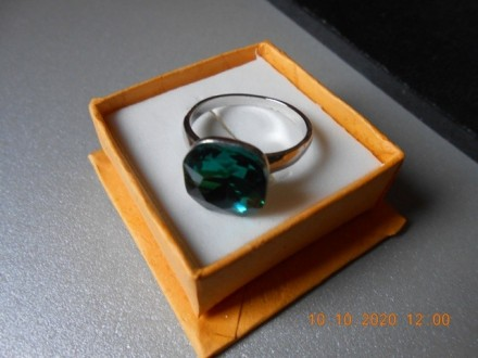 Prsten - Zeleno, volim te zeleno - Smaragd