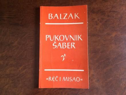 Pukovnik Saber - Balzak