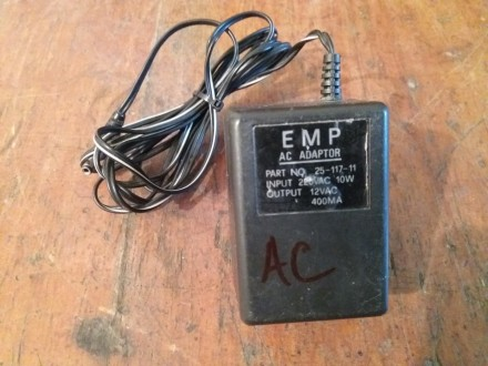 Punjač, adapter AC/AC 12V 400mA